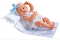 ASI LUCIA  42 cm dukke med rosatøy og pute/dyne